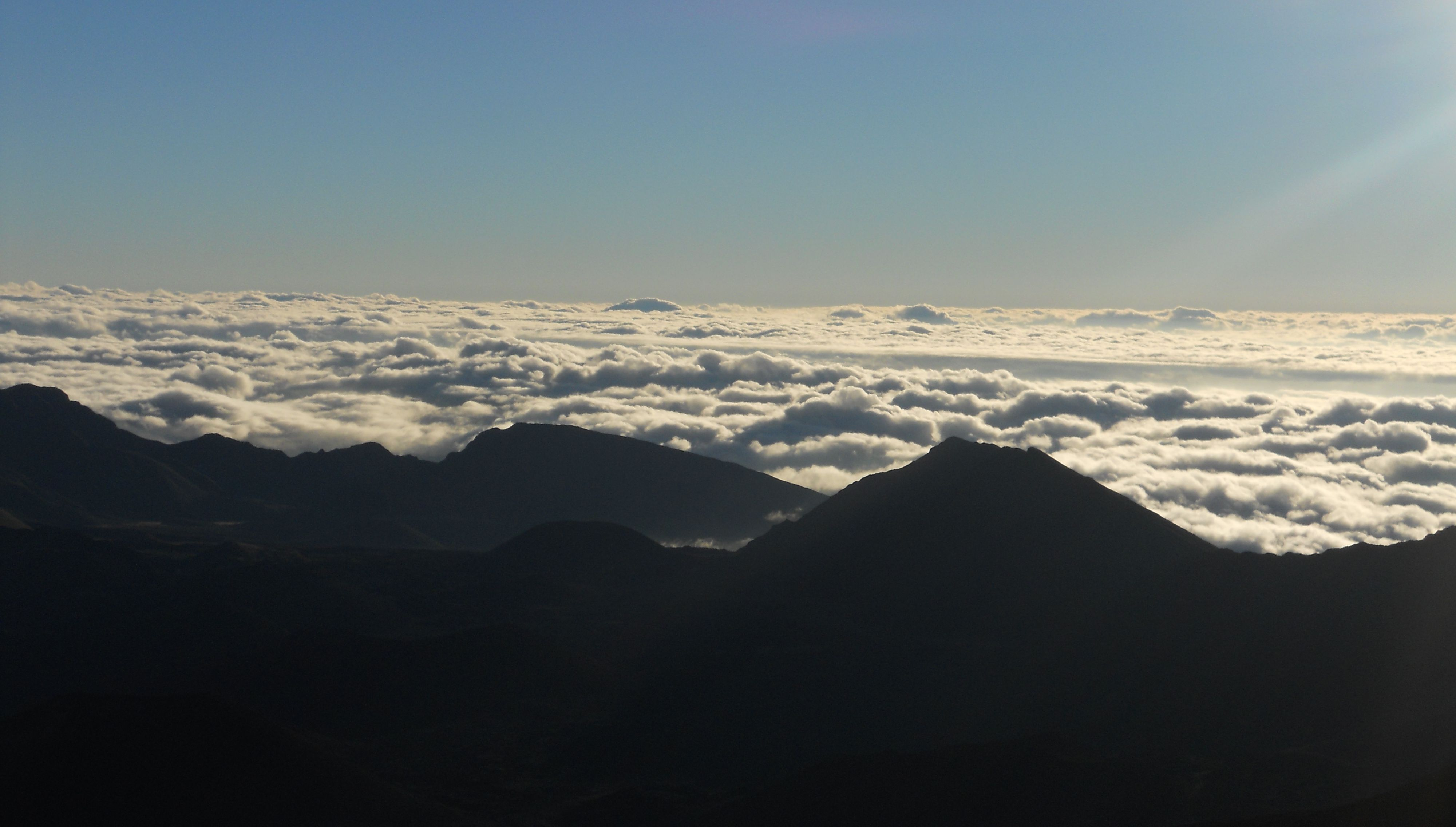 The Stay Puft Marshmallow Man was forged by the gods in the clouds of Haleakalā.