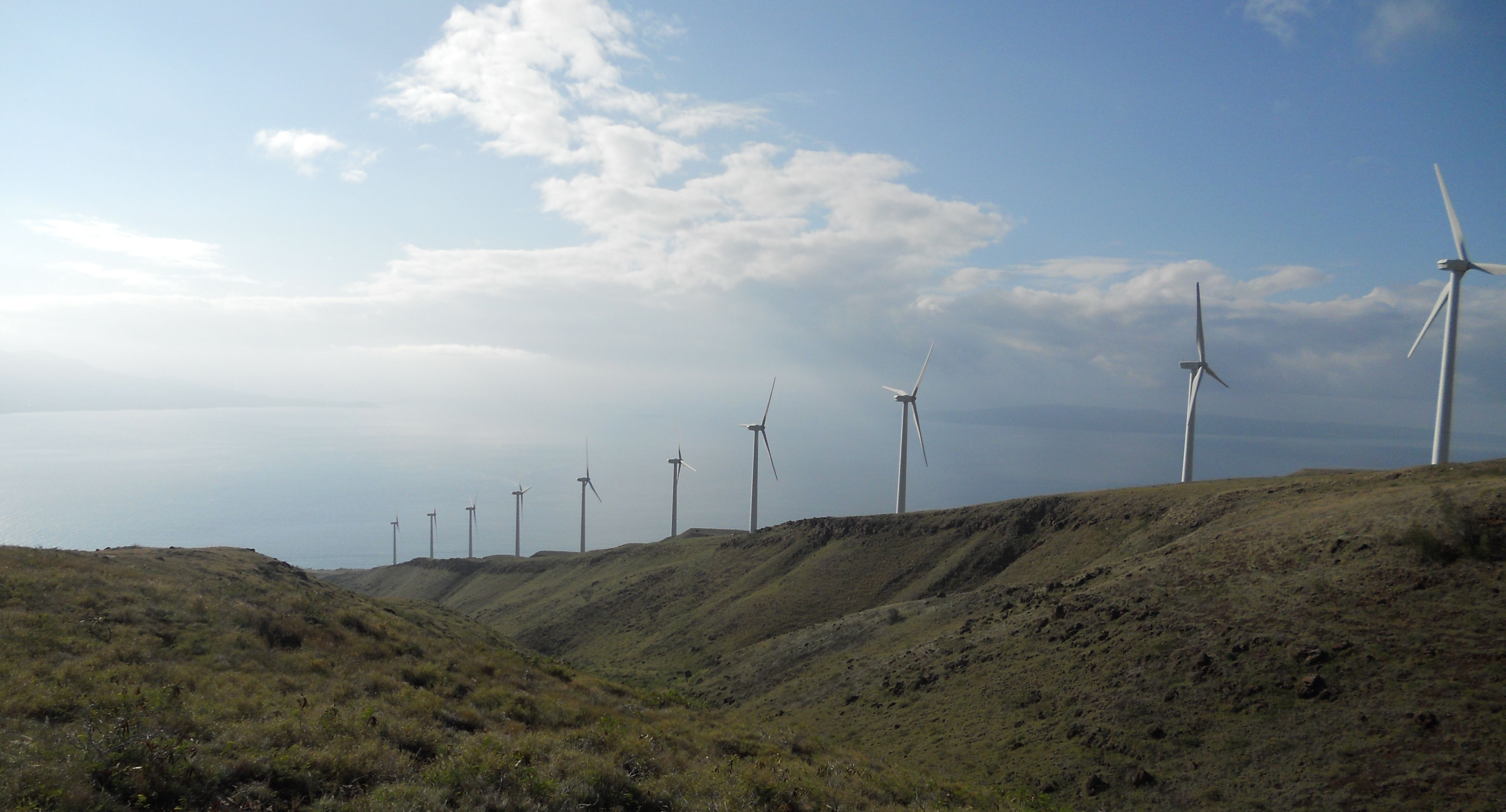 My deep breath powered sixteen homes in Maui today. #Green