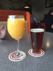Fi's Post-Hoke Brunch Review: Mimosas were large. 4 Stars. Would drink again.